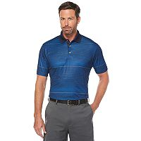 Big & Tall Grand Slam Motionflow Striped Performance Polo