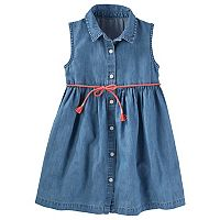 Toddler Girls OshKosh B'gosh® Chambray Shirt Dress