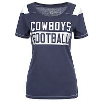 Women's Dallas Cowboys Rayna Football Tee