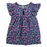 Toddler Girl OshKosh B'gosh® Floral Flutter Tee