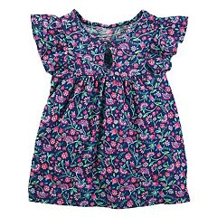 Toddler Girl OshKosh B'gosh® Floral Flutter Tee