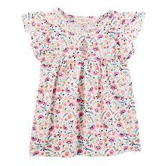 Toddler Girls OshKosh B'gosh® Floral Flutter Top