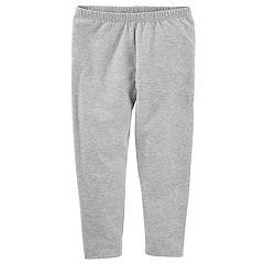 Toddler Girl OshKosh B'gosh® Solid Gray Leggings