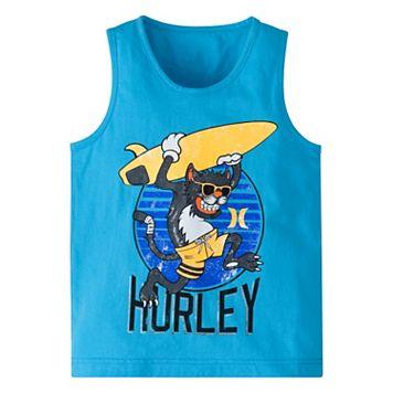 Boys 4-7 Hurley Surfing Monkey Tank Top