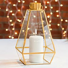 Cathy's Concepts 'Your Love' Memorial Lantern Table Decor