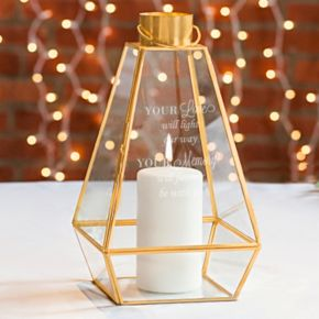 """Cathy's Concepts """"Your Love"""" Memorial Lantern Table Decor"""