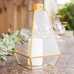 Cathy's Concepts 'Shine Bright' Geometric Lantern Table Decor