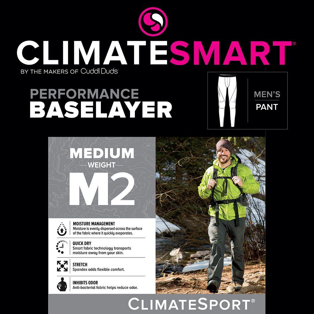 Men's Climatesmart Micro-Suede Stretch Sport Performance Leggings