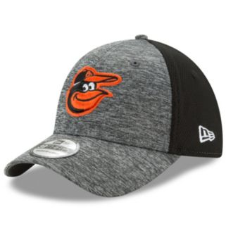 Adult New Era Baltimore Orioles 39THIRTY Shadow Blocker Fitted Cap