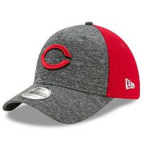 Adult New Era Cincinnati Reds 39THIRTY Shadow Blocker Fitted Cap