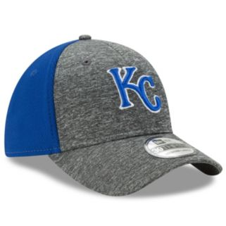 Adult New Era Kansas City Royals 39THIRTY Shadow Blocker Fitted Cap