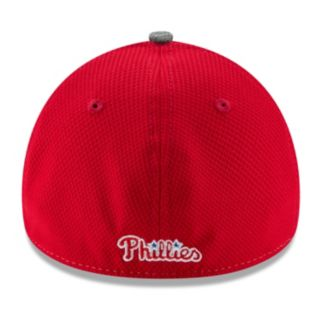 Adult New Era Philadelphia Phillies 39THIRTY Shadow Blocker Fitted Cap