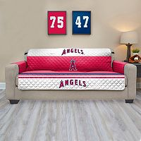 Los Angeles Angels of Anaheim Quilted Sofa Cover