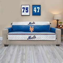 New York Mets Quilted Sofa Cover