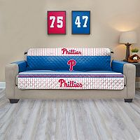 Philadelphia Phillies Quilted Sofa Cover