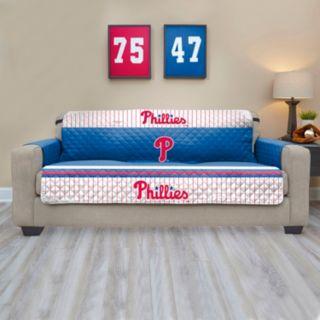 Philadelphia Phillies Quilted Sofa Cover