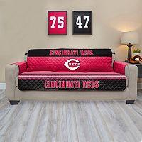 Cincinnati Reds Quilted Sofa Cover