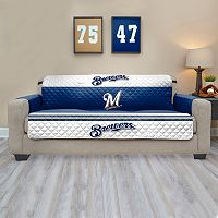 Milwaukee Brewers Quilted Sofa Cover