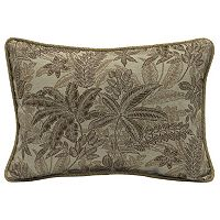 Bombay® Outdoors Palmetto Floral 2-piece Reversible Oversize Oblong Throw Pillow Set