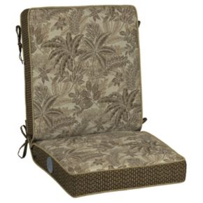 Bombay® Outdoors Palmetto Floral Adjustable Comfort Reversible Chair Cushion