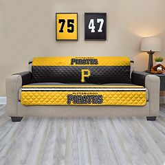 Pittsburgh Pirates Quilted Sofa Cover