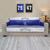 Colorado Rockies Quilted Sofa Cover