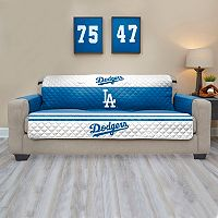 Los Angeles Dodgers Quilted Sofa Cover