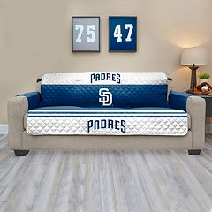 San Diego Padres Quilted Sofa Cover