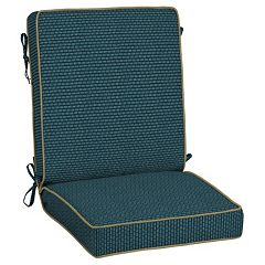 Bombay® Outdoors Rhodes Texture Reversible Chair Cushion