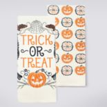 Celebrate Halloween Together Trick Or Treat Kitchen Towel 2-pk.