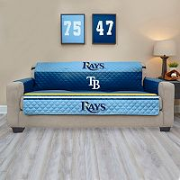 Tampa Bay Rays Quilted Sofa Cover