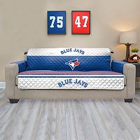 Toronto Blue Jays Quilted Sofa Cover