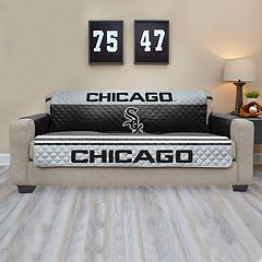 Chicago White Sox Quilted Sofa Cover