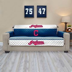 Cleveland Indians Quilted Sofa Cover