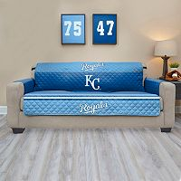 Kansas City Royals Quilted Sofa Cover