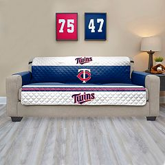 Minnesota Twins Quilted Sofa Cover