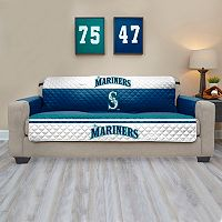 Seattle Mariners Quilted Sofa Cover