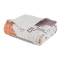 Intelligent Design Choose Adventure Quilted Throw