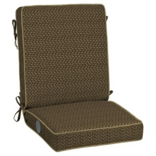 Bombay® Outdoors Rhodes Texture Adjustable Comfort Reversible Chair Cushion