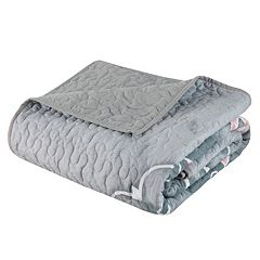 Intelligent Design Medallion Quilted Throw