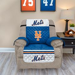 New York Mets Quilted Recliner Chair Cover