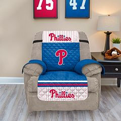 Philadelphia Phillies Quilted Recliner Chair Cover