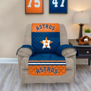 Houston Astros Quilted Recliner Chair Cover
