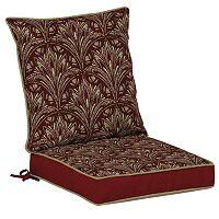 Bombay® Outdoors Royal Zanzibar Medallion Snap Dry Reversible Dining Chair Cushion Set