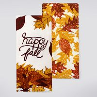 Celebrate Fall Together Happy Fall Kitchen Towel 2-pk.