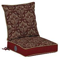 Bombay® Outdoors Royal Zanzibar Medallion Adjustable Comfort Reversible Dining Chair Cushion Set