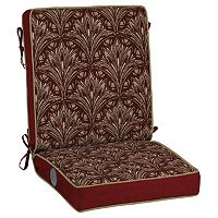 Bombay® Outdoors Royal Zanzibar Medallion Adjustable Comfort Reversible Chair Cushion