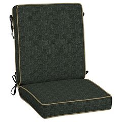 Bombay® Outdoors Tangier Stitch Snap Dry Reversible Chair Cushion