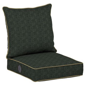 Bombay® Outdoors Tangier Stitch Adjustable Comfort Reversible Deep Seat Chair Cushion Set