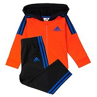 Baby Boy adidas Zip Hoodie & Pants Set